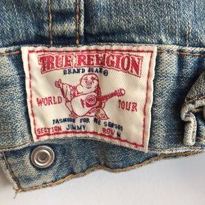 """True Religion Jackets & Coats - True Religion Lt. Wash """"Jimmy"""" Denim Jacket Medium"""